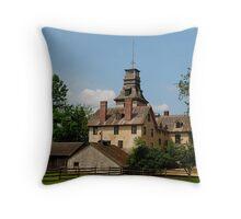 Batsto Mansion Throw Pillow