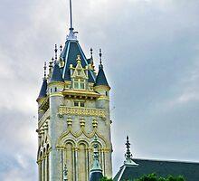 Spokane Courthouse Tower by Tamara Valjean