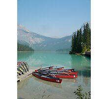 Emerald Lake 1, Yoho National Park, Alberta, Canada Photographic Print
