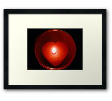 Heart Warming Framed Print