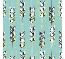 Freshtatic Chevron Arrows Illustration Pattern Photographic Print
