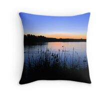 Saturday Sunset Throw Pillow