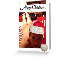 Alex Ranger Christmas Card Greeting Card