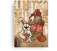 patch bunny Canvas Print