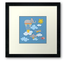 Flying Circus Framed Print