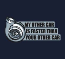 My other car is faster than your other car Kids Clothes