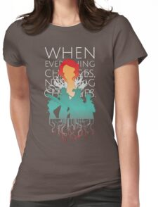 Red - Transistor Womens Fitted T-Shirt