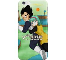 Vegeta and Bulma Namek iPhone Case/Skin