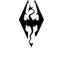 Skyrim Logo by logancase