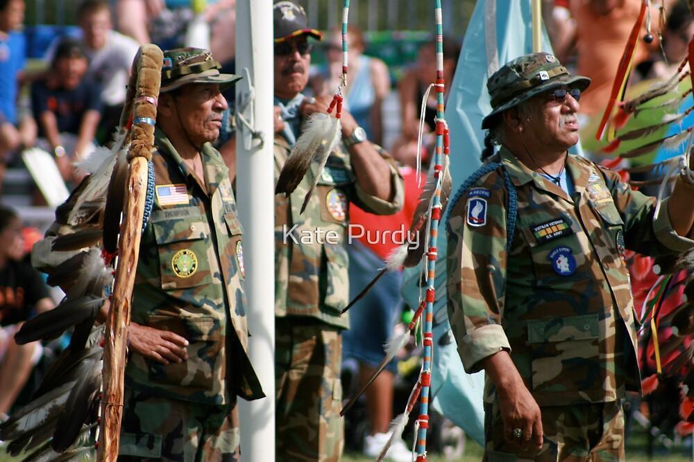 Native American Veteran's  by Kate Purdy