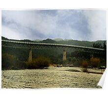 McKillops Bridge over the Snowy River, East Gippsland, Victoria Poster