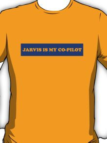Jarvis is my Co-Pilot T-Shirt