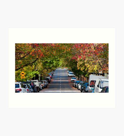 Autumn in Erskineville Art Print
