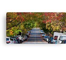 Autumn in Erskineville Canvas Print
