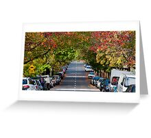 Autumn in Erskineville Greeting Card