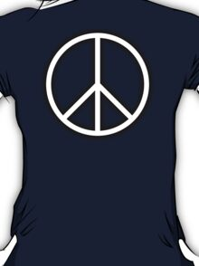 Ban the Bomb, Peace, symbol, CND, Campaign for Nuclear Disarmament, White T-Shirt