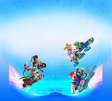 Mario Kart 8 Leggings by Tetura