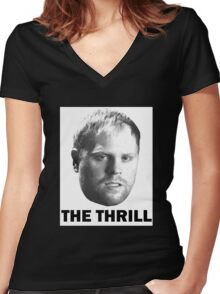 """Phil """"The Thrill"""" Kessel Women's Fitted V-Neck T-Shirt"""
