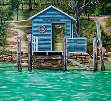 Lovett Bay Wharf by Sarina Tomchin