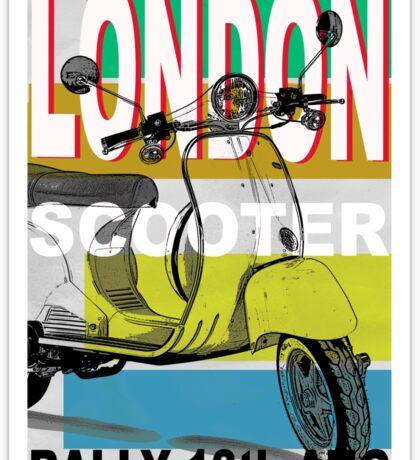 London Scooter Rally Sticker