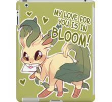 Leafeon Love iPad Case/Skin