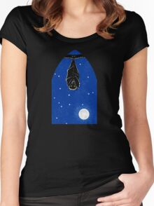 Bat in the Window Women's Fitted Scoop T-Shirt
