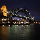 Sydney Harbour Bridge at Dusk by Scott Westlake