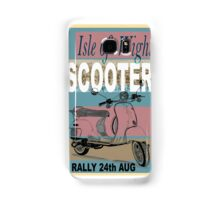 Isle of Writer Scooter Rally Samsung Galaxy Case/Skin
