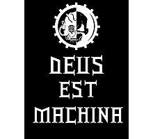 Adeptus Mechanicus white version Photographic Print