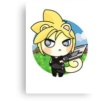 ACNL Cloud Strife Canvas Print