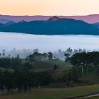 Misty valley sunrise by Craig Shadbolt