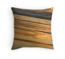 Cable Beach Throw Pillow