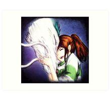 Spirited Away - Chihiro & Haku Art Print