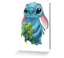 heh heh hi! Greeting Card