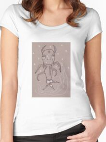 Illustrations 5 Women's Fitted Scoop T-Shirt