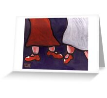 New Red Shoes Greeting Card