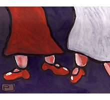 New Red Shoes Photographic Print