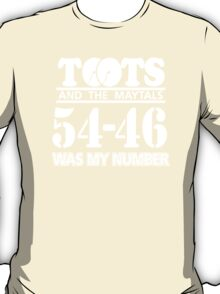 TOOTS AND THE MAYTALS T-Shirt