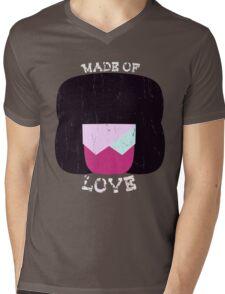 Made Of Love Mens V-Neck T-Shirt