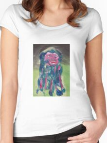 April 14 Number 3 Women's Fitted Scoop T-Shirt