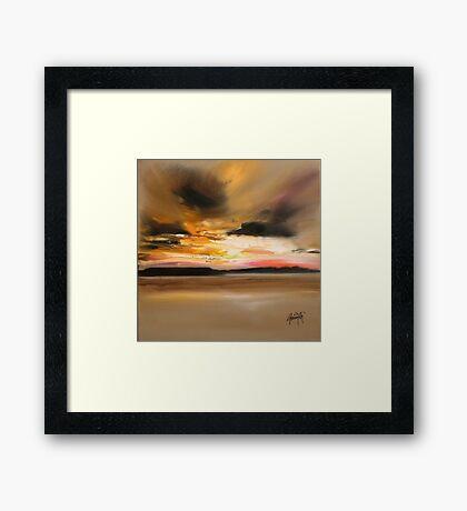 Warm Light 1 Framed Print