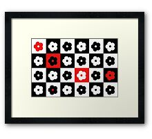 Daisy optix Framed Print