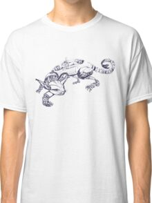 Cat Robot #1 Racer  Classic T-Shirt