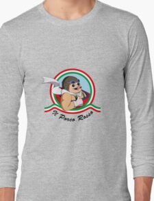 Il Porco Rosso Long Sleeve T-Shirt