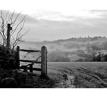 Over the fields........ Photographic Print