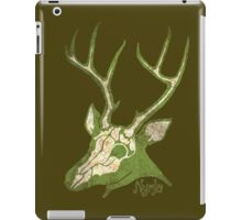 Inside the Deer - Grungy Deer Skull iPad Case/Skin