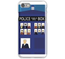 The 13 Doctors iPhone Case/Skin