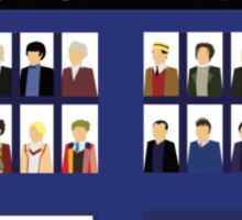 The 13 Doctors Sticker