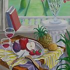 Still Life and Arch Window 2 by nancy salamouny