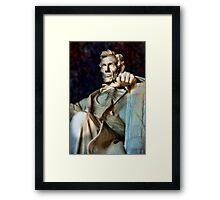 Lincoln Memorial Digital painting Framed Print